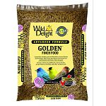Wild delight advanced formula golden finch food is blended to attract america s favorite finches. A premium outdoor pet food blended to attract finches and buntings. Filled with ingredients these birds love and touched with hues of harvest gold. Attracts