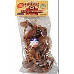 Slow-roasted high quality pig ears to lock in the flavor Sure to become one of your dogs favorites Made in the usa