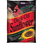 High in fat and protein, these dark oil sunflower seeds are perfect for attracting and feeding a variety of colorful wild birds to your yard. Made with no fillers and makes less mess. Birds eat more seed. Size of one bag is 10 pounds.