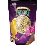 Vitamin fortified bird food enhanced with a daily pelleted diet. Encore is formulated to provide the proper nutrition your bird requires.