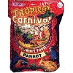 Tropical Carnival Gourmet Parrot Food is a nutritionally fortifed blend of parrot food that has only the best ingredients to insure a healthy diet and proper digestion. Great tasting and nutritious, your parrot will love to eat this special gourment blend