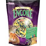 Brown's Encore Premium Hamster and Gerbil food is the natural choice food specially formulated for consumers who prefer to feed their small animals a wholesome blend of 100% natural seeds and grains.