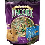 Traditional Guinea Pig Food. Encore, a premium, vitamin-fortified food, is formulated to provide the proper nutrition your pet requires. We've blended the highest quality select seeds and grains together.