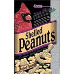 Shelled peanuts make a nutritious meal for a wide range of larger wild birds. Great for any time of the year, these peanuts are easy to feed and have no shells. Especially made for filling peanut style feeders. Great high-energy, protein source!