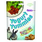 Yogurt yummies are fiber rich treats for all small animals. Feed as a snack or reward for rabbits, guinea pigs&hamsters.