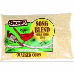 Select all-natural corn is cracked to just the right size, making it easy for wild birds to eat These consistently sized pieces are a prized source of essential energy and protein gained from starch and oils. This is a natural source of essential vitamins