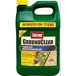 Kills weeds and prevents new growth for up to 1 year. Eliminates unwanted vegetation from driveways, walkways, patios, fence rows and other areas.