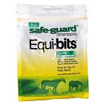 Safeguard Equibits Medicated Equine Dewormer is a Type D dewormer that is easy to administer to your horse. Just add Equibit pellets to your horse's daily ration at a rate of one pound per 1000 lbs. of body weight. Flavored to taste good.