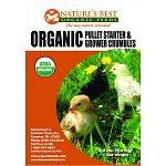 This product is intended for use as a broiler and layer chick starter feed. Feed continuously as the sole ration to chicks from day one to twenty-one. Pennsylvania certified organic feeds.