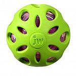 Durable rubber ball covered with hol-ee styled cutouts Provides the crackle sound and feel that dogs love Tough outer rubber molds around bottle ball providing a protective layer that will hold up to rugged play