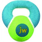 JW ProTEN Kettle Balls are intelligent ideas that make happy pets! This toy is ideal for interactive play. Enjoy a game of toss and tug with this unique dog toy. Tennis ball with natural rubber inside. Durable handle, great for gripping or biting
