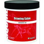 Soothing salve formula relieves itching and minor skin irritations. Drawing salve promotes healing in wounds and treats chronic inflammation. Also used as an emollient to treat dry, cracked, brittle hooves. 14 oz.