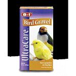 UltraCare finely ground gravel, specifically formulated for smaller birds like Canaries and Finches. A natural aid to digestion. Helps breakdown food bits into smaller, more easily digestible size. 24 oz