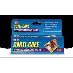 Excel Corti-care contains aloe. Relieves itching and inflammation due to hot spots or flea or insect bites. Gentle, non stinging formula. For dogs, cats and horses. Helps in the healing process by stopping pets from scratching, licking or biting the affe