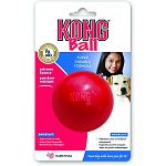 Kong ball for large dogs. Get a Kong ball and watch your dog have the time of his life playing catch with you.
