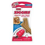 Put ziggie in kong for dog to chew on and digest.