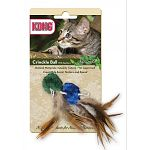 The Kong Natural Crinkle Ball with Feathers Cat Toy is great for the environment and lots of fun for your cat. Perfect for any cat, this crinkle ball with feathers will keep your cat's interest and provides hours of fun. Comes in a two pack of assorted co