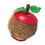 Combines the fun and action of a catnip toy with the irresistible feel of corrugate scratchers cats love. The scratch apple features a twist-off top with hollow core for easy catnip filling. Simply twist off top to fill toy with fresh catnip. Vial of kong