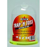 Disposable trap can be hung or set down. Attracts and kills flies without insecticides. Holds over 10,000 flies. Special attractant- multiple feeding stimulants + a fly sex attractant. No messy jars to clean.