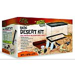 Ideal starter kit for juvenile desert animals. Comes with 2 reflective dome light fixtures, a terrarium liner carpet, and a temperature/humidity gauge.