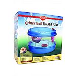 The perfect home for your hamster, gerbil, or mouse Unique round design, allows for easier cleaning and no chew points