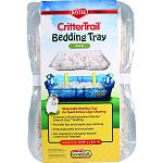 Disposable bedding tray for quick & easy cage cleaning Contains soft and absorbent kaytee clean & cozy bedding Provides fast and simple cage cleaning Fully disposable and recyclable Fits standard rectangular kaytee crittertrail habitats