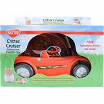 Pet-powered exercise car for critters Ideal for hamsters, gerbils, mice, and other small animals Four different ways to use it No batteries, and no circuits