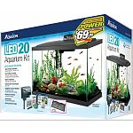 Offers a complete all-in-one habitat that makes it easy for beginners and hobbyists alike. Features complete aqueon lighting and filtration systems.