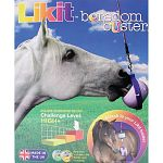 Sure to provide hours of mental stimulation for your horse. Ideal for food motivated horses or experienced likit users. Multi-directional movement.