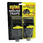 Easy and safe to use. Deep bait well holds soda or solids. Reusable. Super value for quick returns. Two pack.