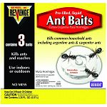 For control of sweet, grease, argentine and carpenter ants. Also kills roaches. Large .75 ounce bait stations with 1% low-dose formula for best control of large/multiple colony problems. Use indoors or outdoors. No mess!