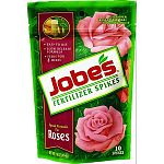 Jobe's Fertilizer Spikes for Roses give roses the nutrition it needs to thrive. Convenient and easy to use, Jobe's Fertilizer Spikes for Roses provide nutrition underground - where plant roots can use it.