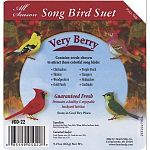 Guaranteed Fresh. Promotes a healthy and enjoyable backyard habitat.Store in a cool dry place. Ideal for suet and seed eating birds year round. Each cake is 9.25 oz. Sold in case of 16