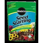 This blend of sphagnum peat moss and perlite is designed to help grow seedlings quickly. Great for stronger roots and healthy plants. Seeds germinate quicker with use of this high quality potting mix. Size of bag is 8 qts.