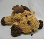 Plush Swirl Moose Dog Toy - 15 in.