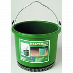 60 watts oversized bucket Thermostatically controlled to operate only when necessary Heavy-duty anti-chew cord protector Heavy-duty bail with reinforced connectors Made in the usa