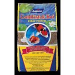 This Goldfish and Koi Pond food contains multi-vitamins and stabilized vitamin C. It is a complete balanced diet for all cold water fish. It will not cloud water and is extremely palatable. Choose Small, Medium or Large Pellets.