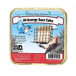 The Pine Tree Farms Hi-Energy Suet Cake provides a great source of high energy to your backyard birds, which have a very high metabolism. Suet is a high-energy formulation of animal fat that is traditionally used to attract birds.