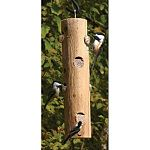 Treat your backyard birds to high-energy suet in the Pine Tree Farms Log Jammer Suet Feeder. The Log Jammer is a natural log hanging suet feeder that is perfect for offering suet to your birds all year.