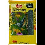 Black oil sunflower is a great wild bird food. Attracts many kinds of wild birds. Works well in most feeders for wild birds. Refill when empty.