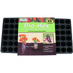 Features revolutionary hexagon cells that encourage a better and stronger root system. Helps minimize transplant shock for young seedlings. Eliminates circular roots which stunts seedling development.