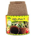 These pots are excellent for starting your plants indoors byadding premium seed starting jiffy-mix and ferry-morse seeds. Once your plants are ready to move outdoors, plant the pot and all and reduce transplant shock. Made from canadian sphanum peat moss.