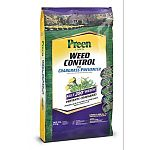 Kills 200+ weeds including chickweed, white clover, henbit, poa annua, foxtail, and more. Provides up to 5 months of weed control. Prevents crabgrass. Covers 3,000 square feet.