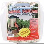 Cardinals love it. . . Squirrels don t Made of 100% safflower Attracts a variety of birds and is a great source of energy Fits on pine tree farms classic log feeder Made in the usa