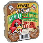 The Peanut Delight Suet Dough is a great treat for all types of wild birds. Made of peanuts and other ingredients, your backyard birds will keep coming back for more! No melt suet is nutritionally balanced for year round feeding in all types of weath