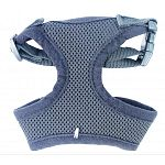 5/8 inch by 10-16 inch adjustable mesh harness for a dog