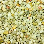 Natural gravel for use in fresh water aquariums For a naturally beautiful aquarium