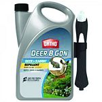 Ortho Deer B-Gon RTU Deer & Rabbit Repellent 1 gallon each (Case of 4)    Convenient pump & spray bottle.