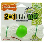 Recommended for dogs up to 25 pounds Revolutionary nylon rubber fusion technology Engage , entertains and occupies Not intended for powerful chewers