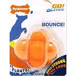 Ready, set, bounce! Floating dog ball Keeps dogs active and entertained Designed for the ultimate in interactive play Built strong, plays long! Made in the usa